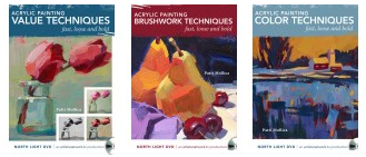 3 New dvd's: How to paint fast, loose and bold