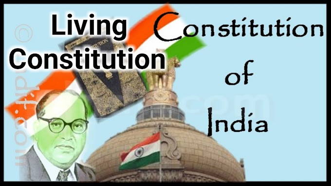 why constitution of india is called living constitution ?