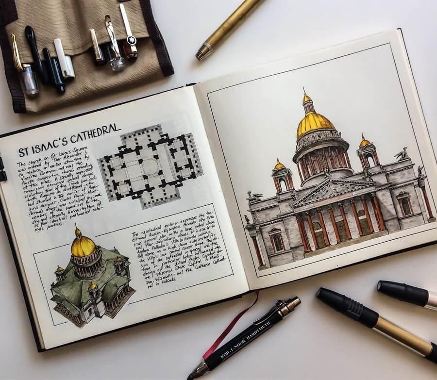 10-Saint-Isaac-s-Cathedral-Oğuzhan-Çengel-www-designstack-co