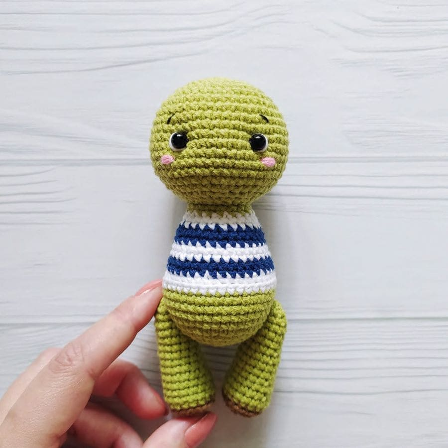 Crochet turtle tutorial
