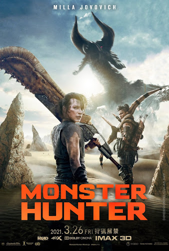 Monster Hunter (BRRip 720p Dual Latino / Ingles) (2021)