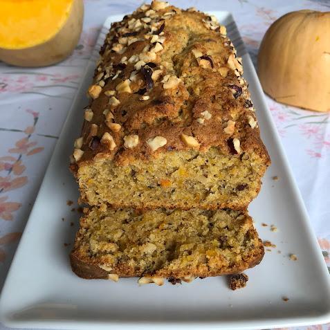 "Gâteau courge butternut-tonka du livre ""En cuisine avec papa ""de Nicooke"