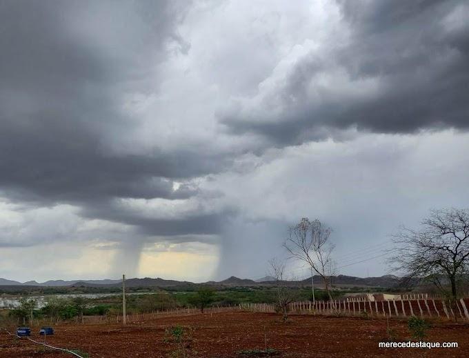 Município de Santa Cruz do Capibaribe registra chuvas nesta terça-feira de carnaval