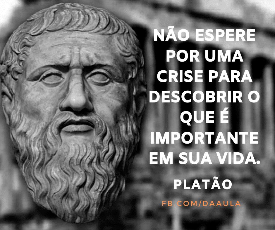 Um homem chamado Platão