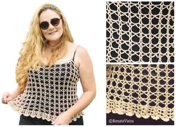 top crochet, moda femenina tejida, patrones ganchillo