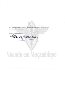 Voando em Moçambique