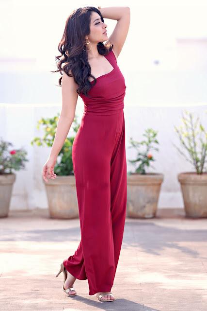 Raashi Khanna Fabulous in Swatee Singh Half Shoulder Jump Suit