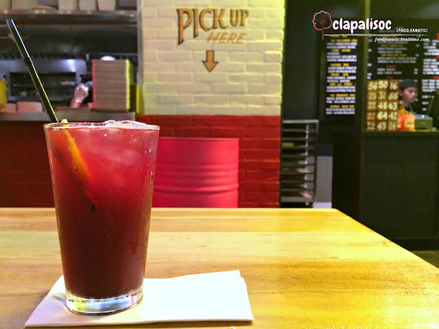 Berry Yuzu Homemade Soda
