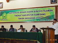 Sumedang Selenggarakan Sertifikasi Dewan Hakim Tilawah