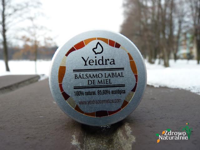 OneOrganic - Yeidra - Naturalny ochronny balsam do ust z miodem
