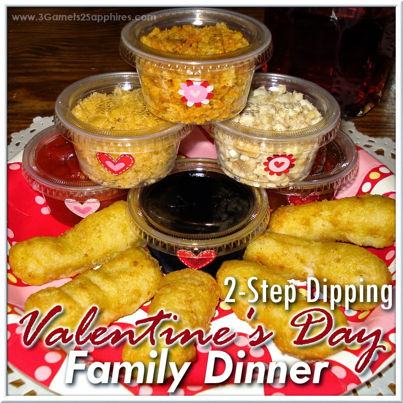 #ad: Fun 2-Step Dipping Valentines Day Family Dinner #LuvTyson #cbias