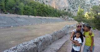 Ruinas de Delfos.