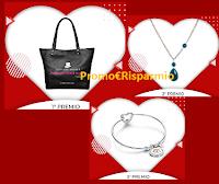 Logo Vinci gratis borsa e gioielli con il contest di San Valentino Chigi