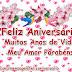 Mensagem de Aniversário Meu amor Parabéns
