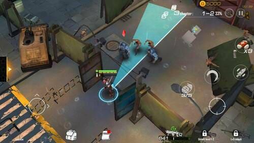 Guns of Survivor - Jogo de tiro e sobrevivência para Android