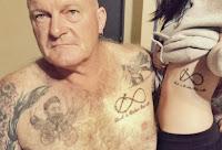 tatuajes de padre e hija
