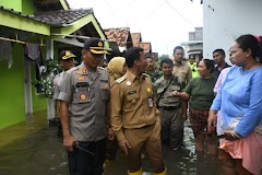 Bupati, Dandim dan Kapolres Tinjau 8 Titik Banjir di Batang