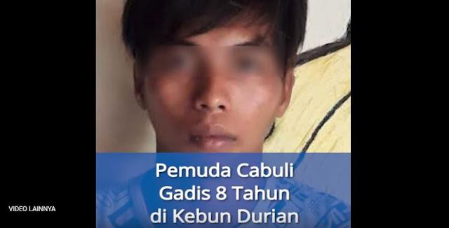 Ajak Gadis 8 Tahun Petik Durian, Pria Ini Malah Memperkosanya Ditengah Hutan
