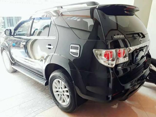 Toyota Grand Fortuner G tahun 2011 bekas