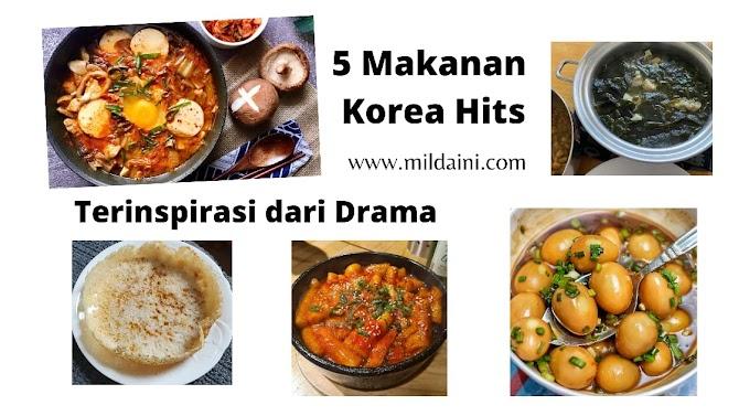 5 Makanan Korea Hits Terinspirasi dari Drama