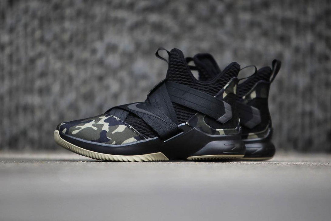 premium selection 3a351 bf6ae Nike's LeBron Soldier 12