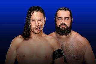 Nakamura Rusev WWE SmackDown Elias Jeff Jarrett Team Lana