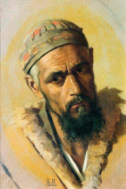 Василий Васильевич Верещагин - Люлли (цыган). 1867-1868