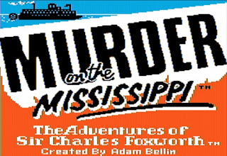 Videojuego Murder on the Mississippi