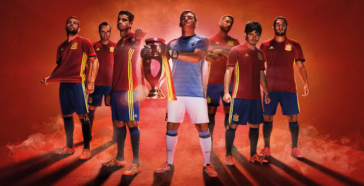 Spain Euro 2016 Kit | New Home, Away Jersey