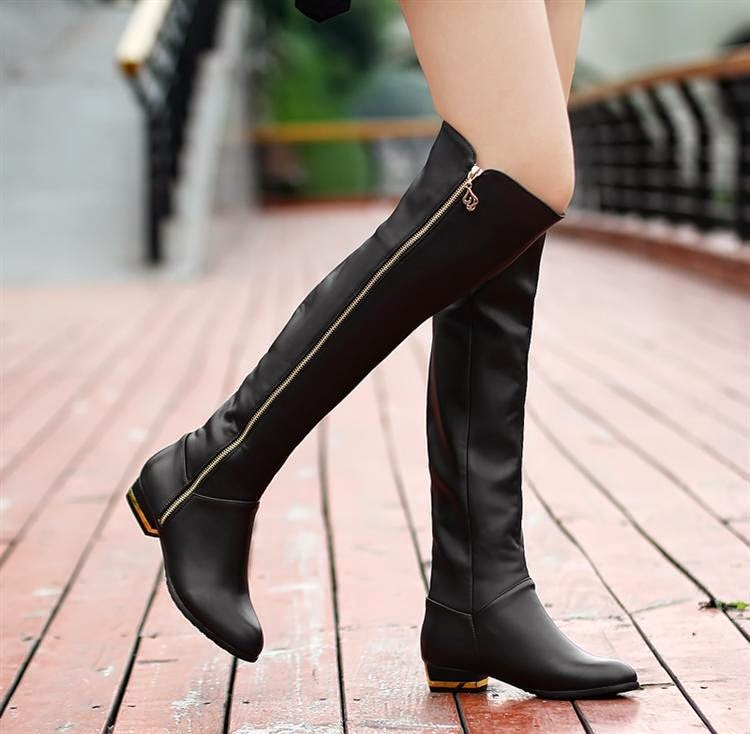 Women S Booties Shoes Black Leather