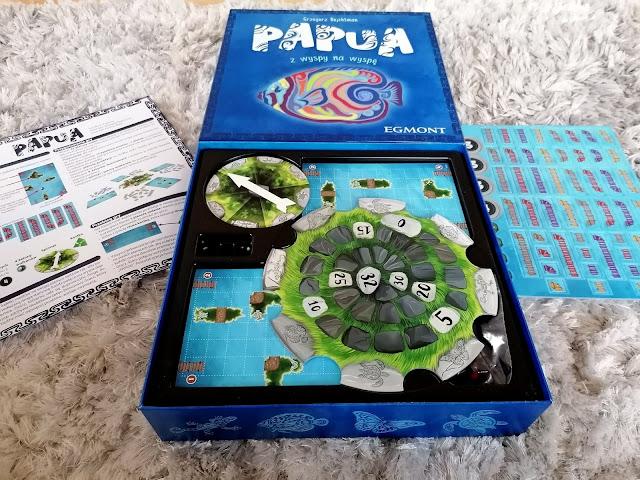 Połącz wyspy najszybciej jak potrafisz- PAPUA gra planszowa