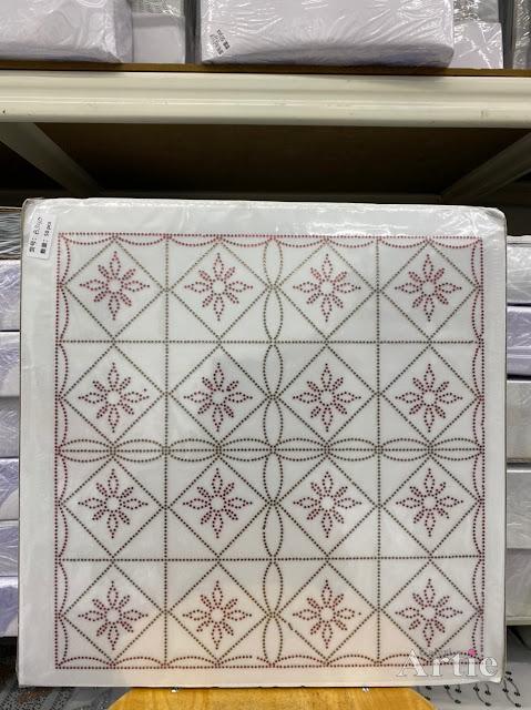 Hotfix stickers dmc rhinestone aplikasi tudung bawal fabrik pakaian rekaan geometrik kotak & bunga