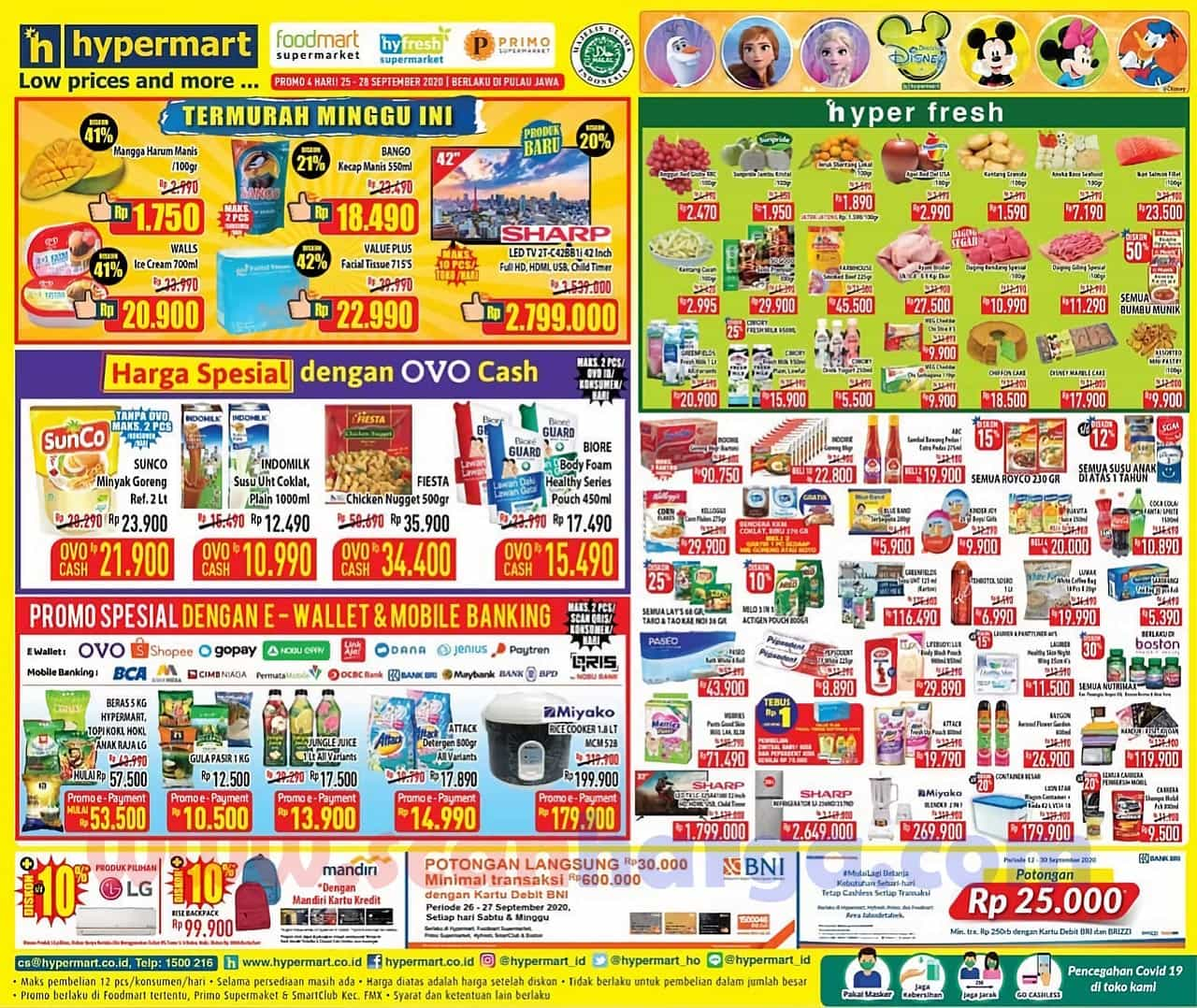 Katalog Promo JSM Hypermart Weekend 25 - 28 September 2020