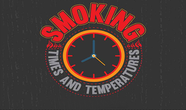 Smoking Times and Temperatures Chart: A Detailed Outline of Slow Cooking #infographic