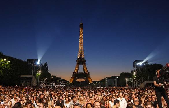 koncerty w Paryżu