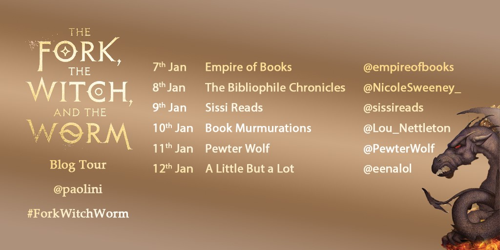Empire of Books: The Fork, the Witch and the Worm Blog Tour