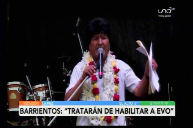 Oficialismo denuncia que el MAS pretende habilitar a Evo Morales como segundo senador
