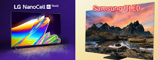 Explain the difference between QLED TV and Nano Cell TV and explain which one is better, with a comparison between them, advantages and disadvantages