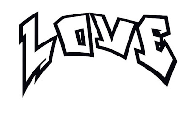 Graffiti fonts, graffiti schrift love, schriftzug, zahlen, lernen, zeichnen