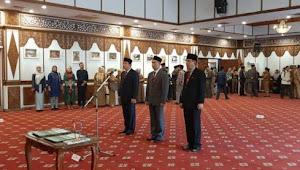 Fachrori Umar, Gubernur Jambi Lantik Tiga Pejabat Eselon 2