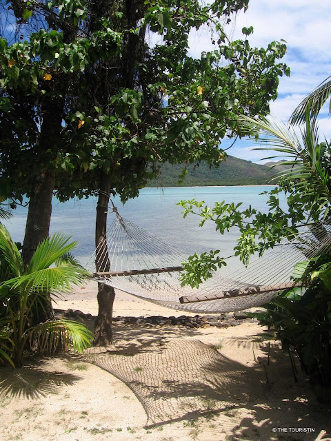 Fiji, South Pacific, hammock, beach, island life, bure, beach