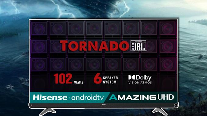 Hisense All Set To Launch Hisense Tornado With 102 Watts JBL Speakers