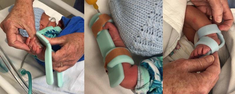 Protector para bebés prematuros hospitalizados