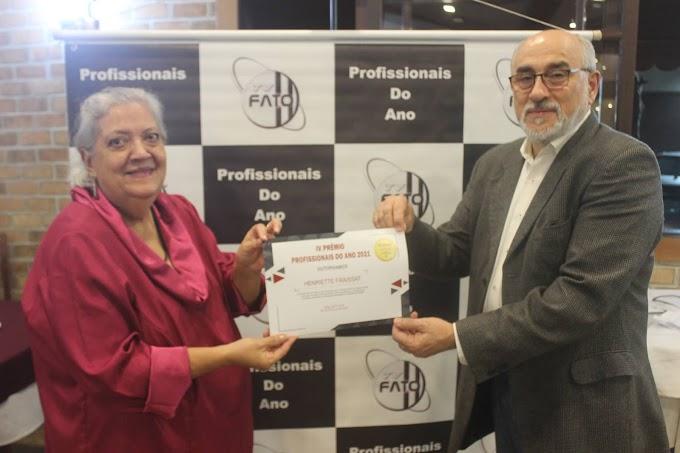 Confira mais uma edição do Prêmio Profissionais do Ano da TV Fato e Seus Homenageados
