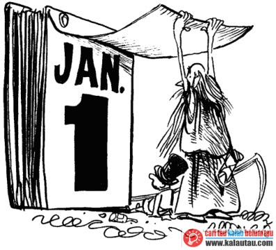 kalautau.com - awalnya kalender hanya dibuat dalam hitungan 10 bulan