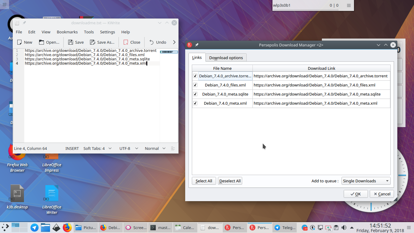 Ubuntu Buzz !: A Short Guide to Persepolis Download Manager