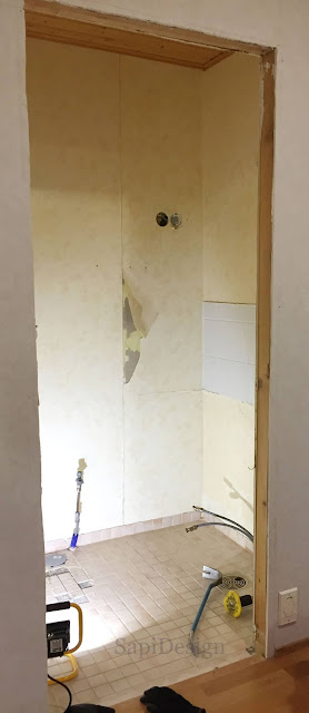 purkaminen remontti wc