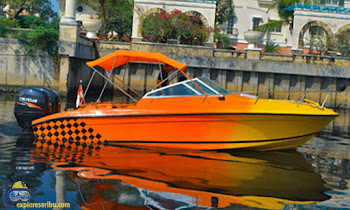 sewa speedboat little start marina ancol