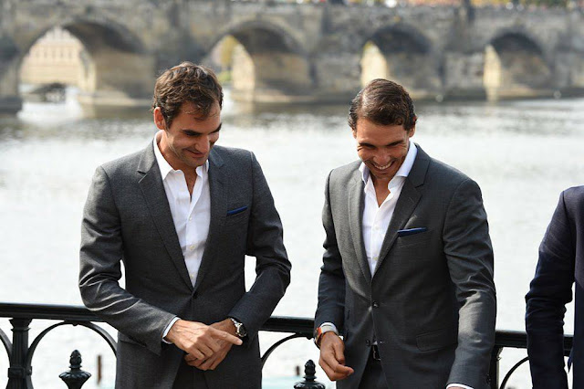 News about  Federer & Nadal playing the double in Laver Cup