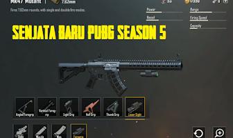 Senjata Baru PUBG Season 5 Yang Harus Kamu Coba